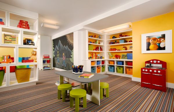 Save Headaches With an Open Concept Kitchen & Playroom